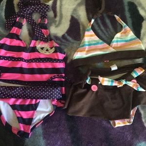Swim suits Girls 6X -7 Children's place /Justified